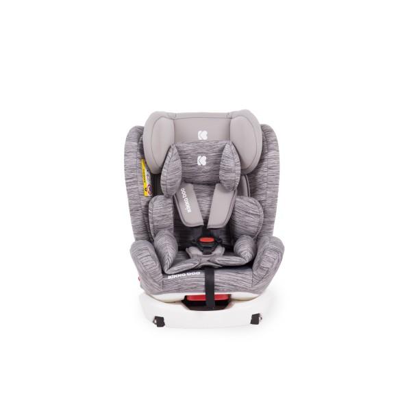 Kikkaboo Стол за кола 0-1-2-3 (0-36 кг) 4 Fix DOUBLE ISOFIX Light Grey