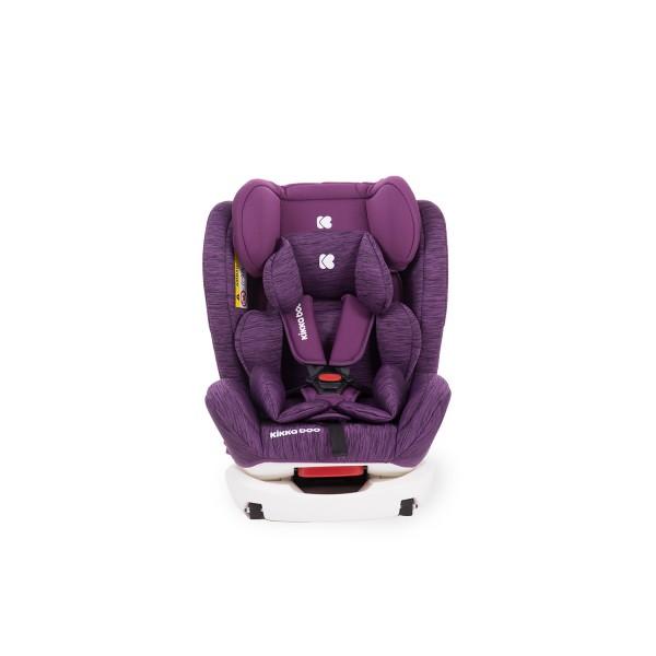 Стол за кола 0-1-2-3 (0-36 кг) 4 Fix DOUBLE ISOFIX Purple