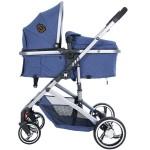 Kikkaboo Комбинирана количка 2 в 1 Tiara Dark Blue
