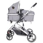 Kikkaboo Комбинирана количка 3 в 1 Tiara Grey