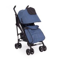 Kikkaboo Бебешка лятна количка Quincy Blue Melange