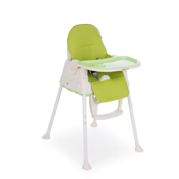 Kikkaboo Стол за хранене Creamy 2в1 Green