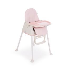 Kikkaboo Стол за хранене Creamy 2в1 Pink