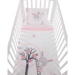 Бебешки спален комплект 3 части Pink Bunny