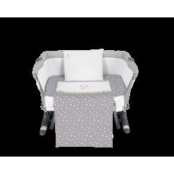 Бебешки спален комплект за мини-кошара 5ч Joyful Mice