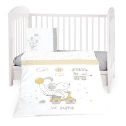 Бебешки спален комплект 5 части Joyful Mice