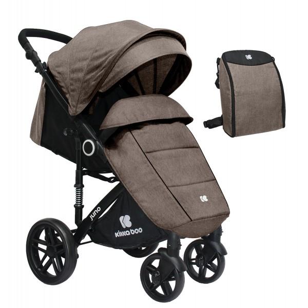 Kikkaboo Бебешка лятна количка Juno Beige 2020