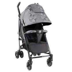 Kikkaboo Бебешка лятна количка Kingsy Grey 2020