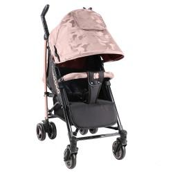 Kikkaboo Бебешка лятна количка Kingsy Pink 2020