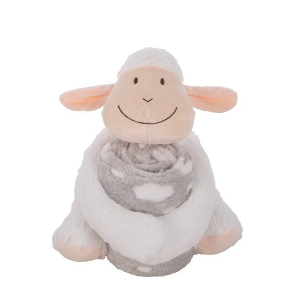 Kikkaboo Сет играчка с одеяло Lamb