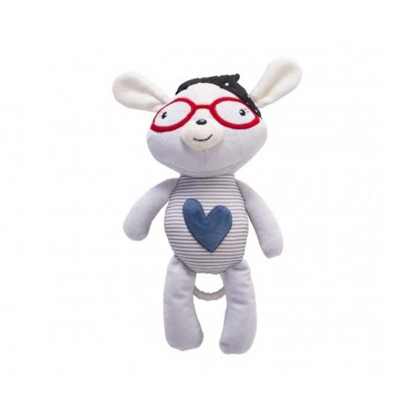 Kikkaboo Музикална играчка за легло Blue Heart LOVE ROME