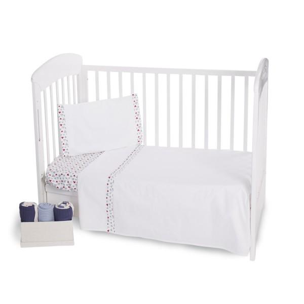 Бебешки спален комплект 3 части EU Style 60/120 Love Rome