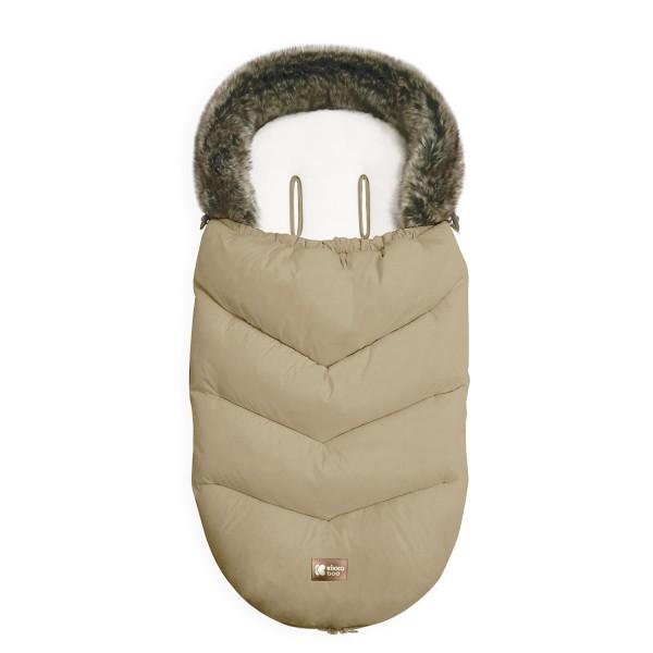 Kikkaboo Чувалче за количка Luxury Fur Beige