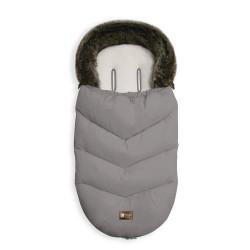 Kikkaboo Чувалче за количка Luxury Fur Grey