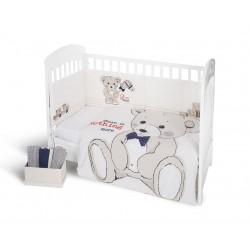 Kikkaboo Бебешки спален комплект 2 части EU style 60/120 Teddy Bear