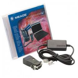 Комплект свързващи кабели Meade #506 със софтуера AutoStar Suite Astronomer Edition