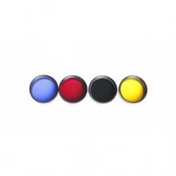 Комплект цветни филтри за наблюдения на Луната и планетите Meade серия 4000 #3200