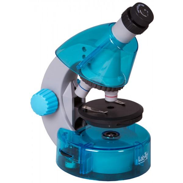 Микроскоп Levenhuk LabZZ M101 Azure (Лазур)