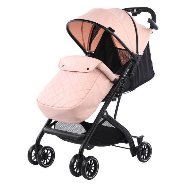 Kikkaboo Бебешка лятна количка Miley Pink + покривало