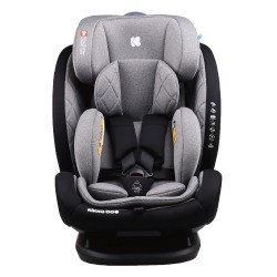 Стол за кола 0-1-2-3 (0-36 кг) Multistage ISOFIX Dark Grey