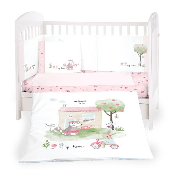 Бебешки спален комплект 6 части 60/120 My Home