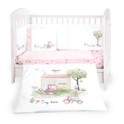Бебешки спален комплект 6 части 70/140 My Home