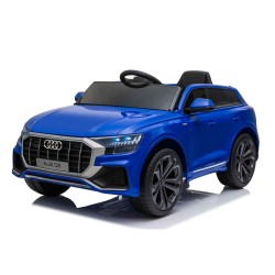 Kikkaboo Акумулаторна кола Licensed Audi Q8 Blue SP
