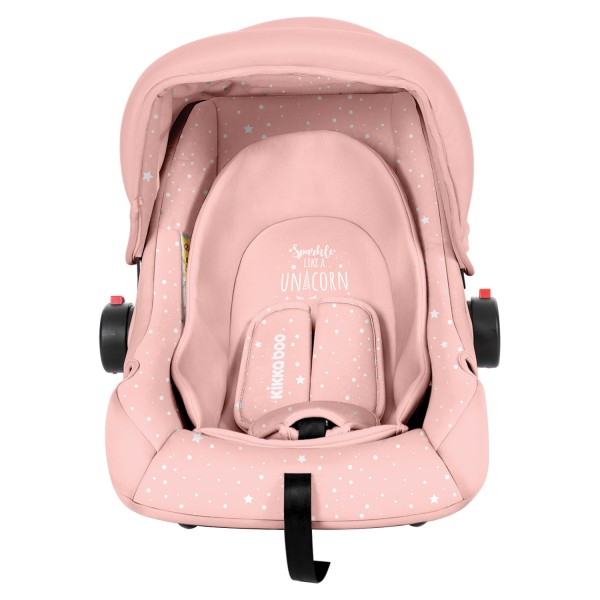 Kikkaboo Стол за кола 0+ (0-13 кг) Little Traveler Pink Unicorn