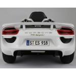 Kikkaboo Акумулаторна кола Porsche 918 spyder hybr superc, 12v, rc, white