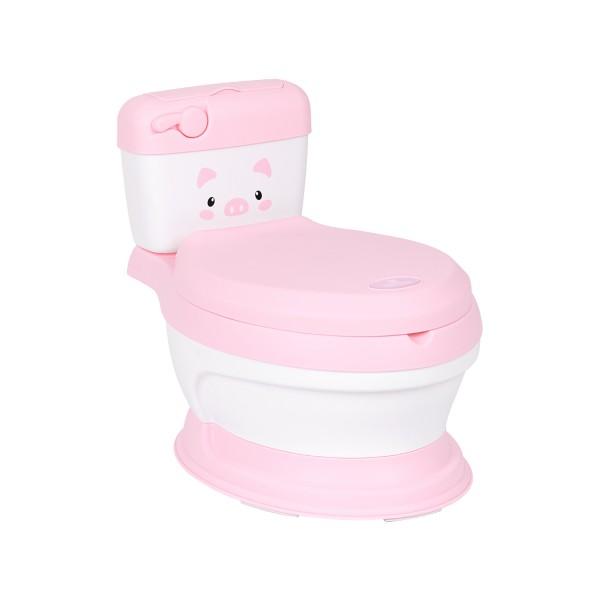 Kikkaboo Гърне тоалетна чиния Lindo Pink