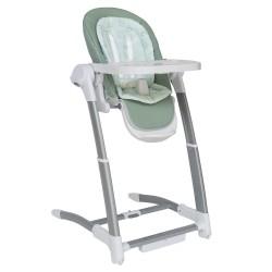 Kikkaboo Бебешка люлка/столче за хранене 3в1 Prima Mint