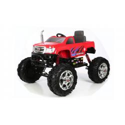 Kikkaboo Акумулаторна кола Rollplay Monster, 24v, red