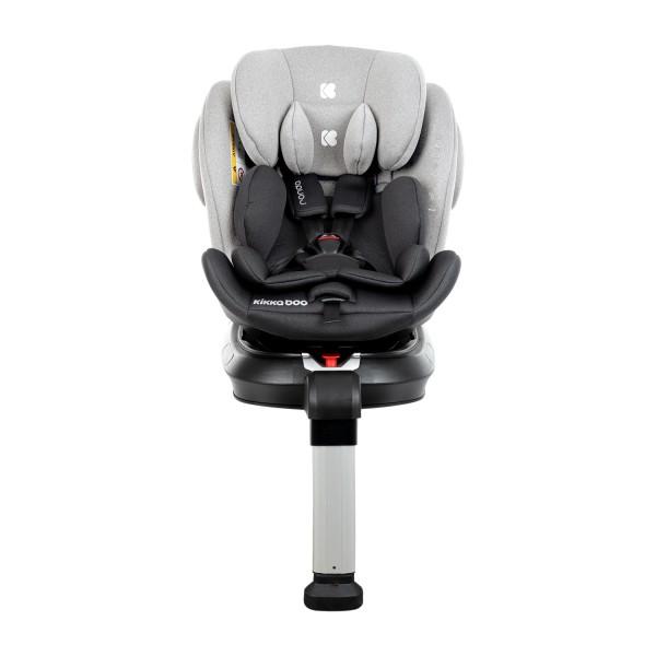 Kikkaboo Стол за кола 0-1-2-3 (0-36 кг) Ronda ISOFIX Light Grey