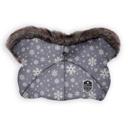 Kikkaboo Ръкавица за количка Shiny Nylon Snow Flakes