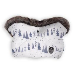 Kikkaboo Ръкавица за количка Shiny Nylon Snow Forest