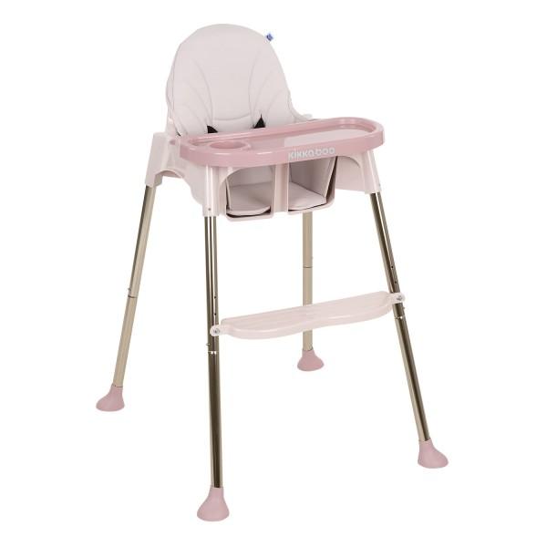 Kikkaboo Стол за хранене Sky-High Pink