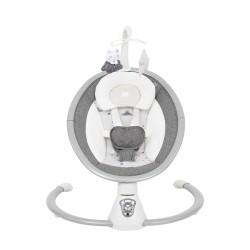 Kikkaboo Бебешка люлка електрическа Twiddle Grey 2020