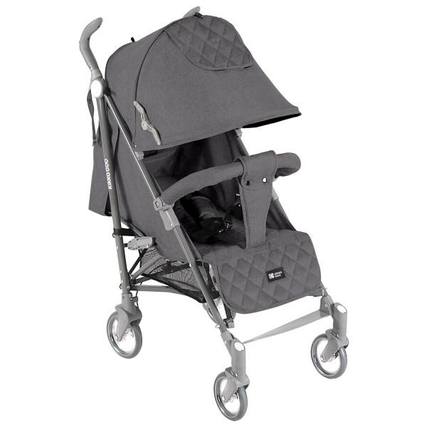 Kikkaboo Бебешка лятна количка Vivi Grey 2020
