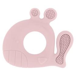 Чесалка силиконова Whale Pink