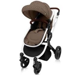 Бебешка количка Dotty Brown