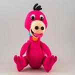 AlinoArt Ръчно плетена кукла Дино