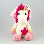 AlinoArt ръчно плетена кукла Еднорог