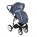 Lorelli Бебешка количка Mia 3in1 Light&Dark Blue