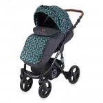 Lorelli Детска количка Rimini Black Leaves