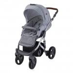Lorelli Детска количка Rimini Grey&Black Dots