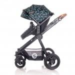 Lorelli Бебешка количка S500 Set Black Leaves