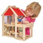 Eichhorn Дървена къща с кукли
