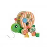 Eichhorn Дървено животинче за дърпане