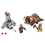 Lego Star Wars T-16 Skyhopper vs Bantha Microfighters