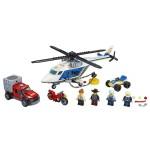 Lego City Полицейско преследване с хеликоптер